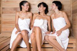 Bild Frauen in der Sauna